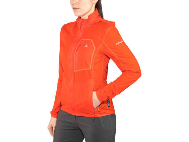 Schöffel L2 Windbreaker Jacket Damen mandarin red